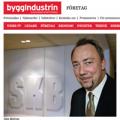 Stig Björne - Byggindustrin 2009-11-23